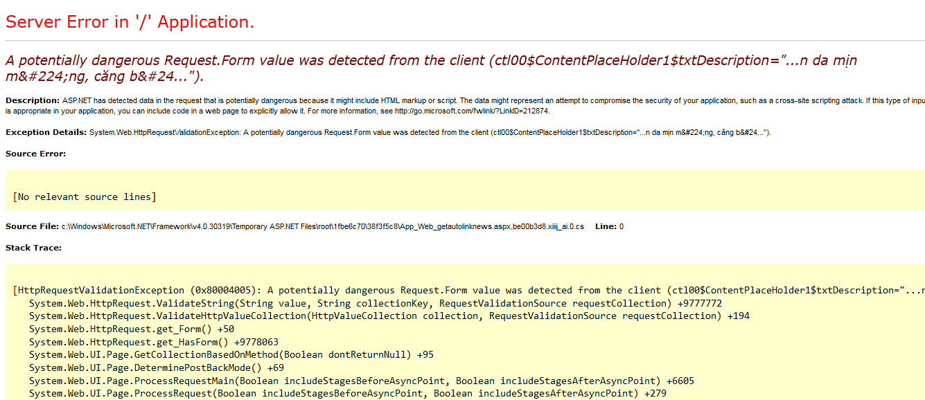 A-potentially-dangerous-Request-Form-value-was-detected-from-the-client.jpg