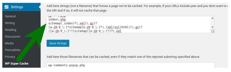 disable-wp-super-cache-sitemap.jpg