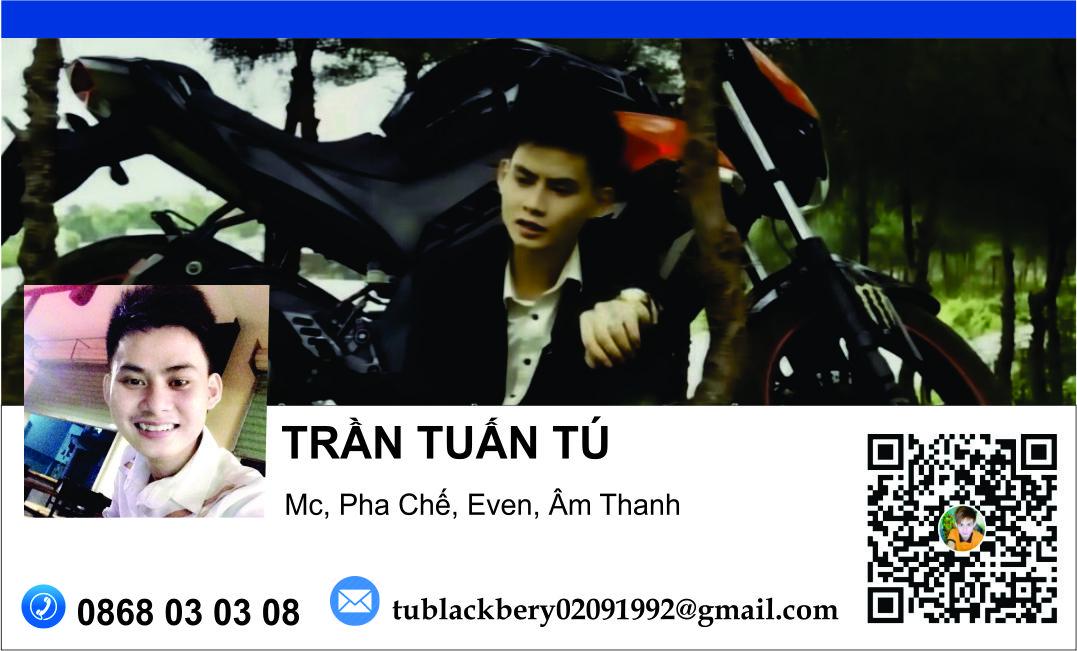 Card của MC Trần Tuấn Tú