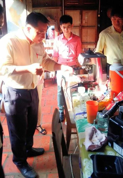 Đào Tạo Cafe Phá Máy - MC Tần Tuấn Tú