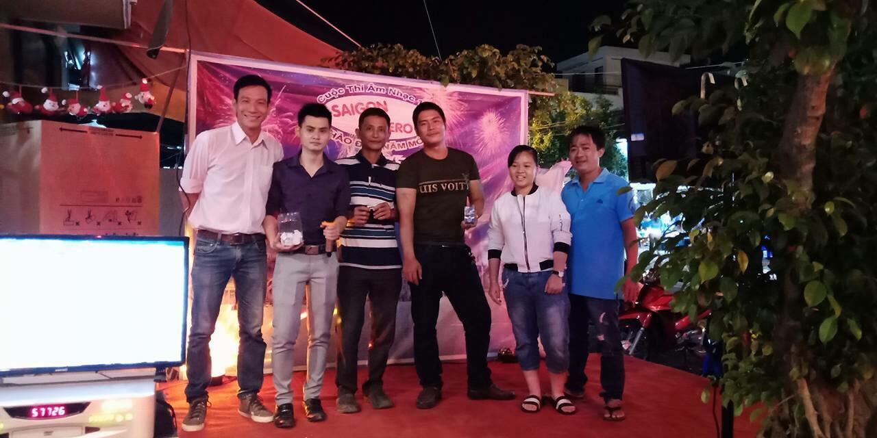 Event sự kiện khai trương quán Trần Tuấn Tú MC
