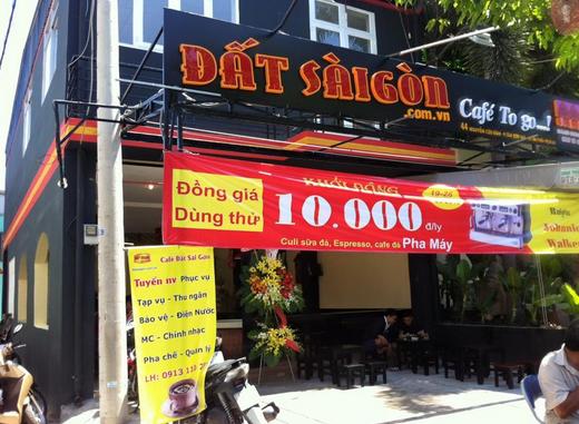 Quán cafe nơi Trần Tuấn Tú làm việc