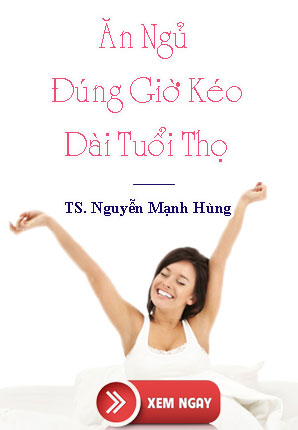 Ăn ngủ đúng giờ kéo dài tuổi thọ